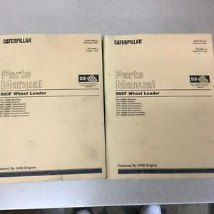 Cat Caterpillar 980f Parts Manual Catalog Book Wheel Loader 3406 Sn 8cj1 99999