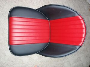 Hotrod Rat Rod Pair Bucket Bomber Seats 32 33 34 T A Ford Car Boat Mg Red Black