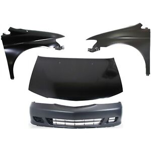 New Kit Auto Body Repair Front For Honda Odyssey 1999 2004