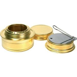 Esbit Brass Portable Cooking Camping Alcohol Burner Stove W Flame Regulator