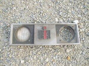 International 444 Tractor Factory Ih Ihc Front Nose Cone Grill Top Bonnet Holder
