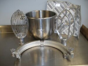 Hobart H600 Reduction 60 To 30 Quart Bowl Adapter And 3 Attachment Set New