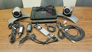 Polycom Hdx 8000 Hd Conference System With 2x Eagleeye Camera Mptz 8 Remote More
