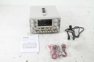Extech 382270 Quad Output Dc Fully Adjustable Power Supply Channel 1 Defective A