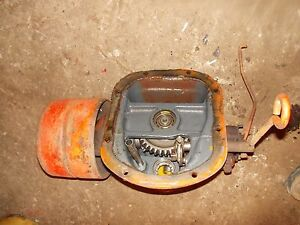 Allis Chalmers C Tractor Ac Pto Power Take Off Assembly Belt Pulley Drive W pu
