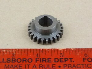 Excelnt Orig Logan 10 Model 820 Lathe Quick Change Box Lead Screw 24 Tooth Gear