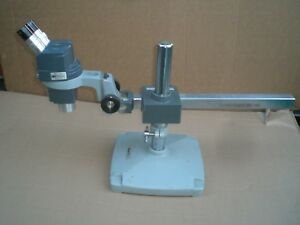 Ao Scientific Stereo Star Microscope With Reichert Boom Stand 10x Lenses