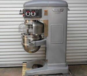 Excellent Slightly Used Hobart 60 Qt Legacy Hl600 Dough Mixer 460v