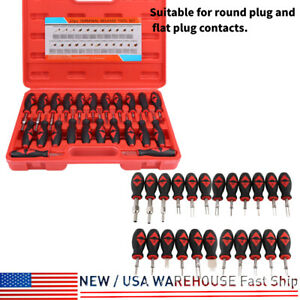 23pcs Universal Connector Release Electrical Terminal Block Removal Tool Kit Set