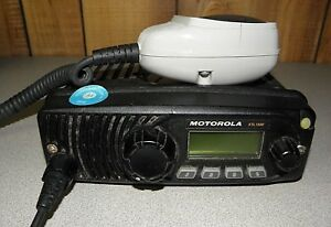 Motorola Xtl1500 M28urs9pw1an 700 800 Mhz Radio With Microphone