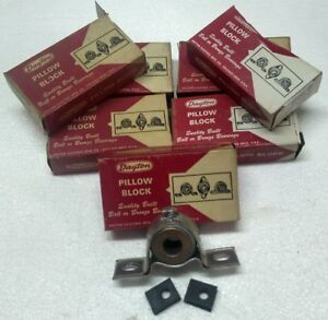 7 Dayton 2x567 Pillow Block Bronze Bearings 1 2 Bore Brand New Low