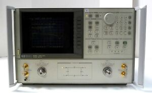 Hp Agilent 8722c 001 Network Analyzer 50 Mhz To 40 Ghz
