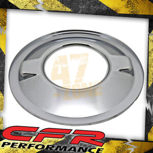 Chevy Ford Mopar Steel 16 Dominator Air Cleaner Base Chrome