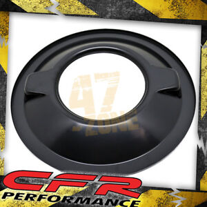 Chevy Ford Mopar Steel 16 Dominator Air Cleaner Base Black