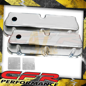 62 85 Ford Small Block 289 302 351w 5 0l Tall Polished Al Valve Covers Smooth