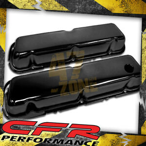 1986 95 Ford 302 5 0l Fox Body Mustang Steel Valve Covers Black