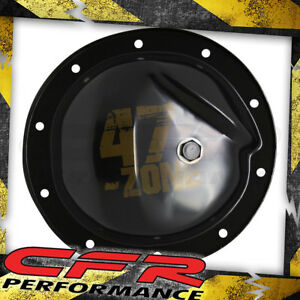1964 95 Chevy gm Black Steel Rear Differential Cover 10 Bolt W 8 2 Ring Gear