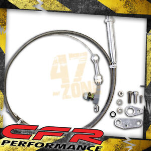 Chevy Gm Turbo Th 350 Transmission Kickdown Cable Kit