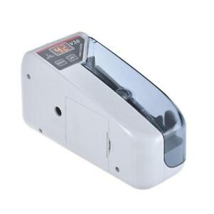 Portable Handy Mini Bill Cash Money Currency Counter Counting Machine Eu Plug