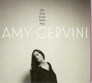 Amy Cervini No One Ever Tells You 10 Track Cd