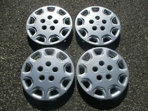 Genuine 1993 To 1999 Toyota Camry 14 Inch Hubcaps Wheel Covers Set