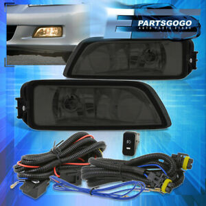 For 2003 2007 Honda Accord 2004 2008 Acura Tl Smoke Lens Fog Lights Switch