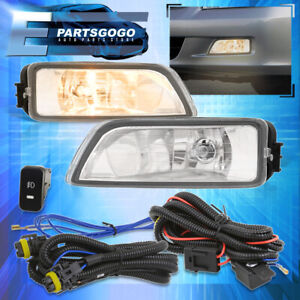For 2003 2007 Honda Accord 2004 2008 Acura Tl Clear Lens Fog Lights Switch