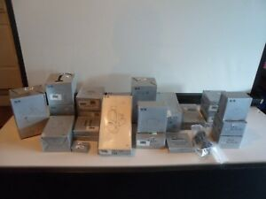 Large Lot Of New Old Stock Wac Lighting Components