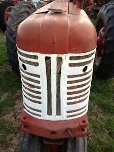Farmall 350 Tractor Origl Factory Ih Ihc Front Nose Cone Grill Assembly W screen