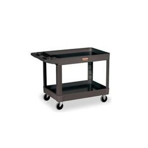 Rubbermaid Fg452089bla Service Utility Cart 4520 89