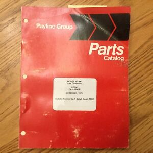 Hough International H 120c Parts Manual Book Catalog Wheel Pay Loader Guide List