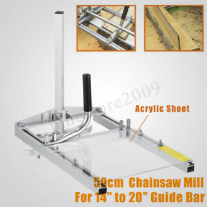 20 Portable Chainsaw Mill Planking Milling Sawmill From 14 To 20 Guide