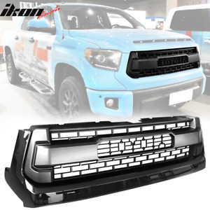 Fits 14 18 Toyota Tundra Front Hood Grille Grill Black