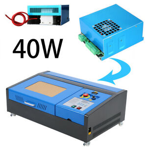40w Laser Power Supply For Co2 Laser Engraving Cutting Machine 110 220v