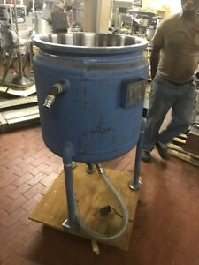 12664 002 Used Approximatley 50 Gallon Pfaudler Stainless Steel Reactor Body