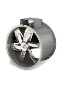 New Dayton 24 3c411 Tubeaxial Fan 26 7 8 In W 37 1 4 In H 3c411 6 Blade