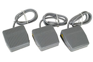 3 Pcs Temco Foot Switch 10a Spdt No Nc Electric Pedal Momentary Control New Lot