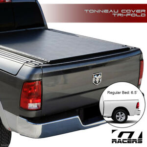 Tri fold Soft Tonneau Cover rail For 2009 2018 Dodge Ram Rambox 6 4 6 5 Ft Bed