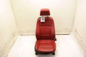 Rh Passenger Front Red Leather Bucket Seat Manual Sport Fits 08 13 Bmw 135i Oem