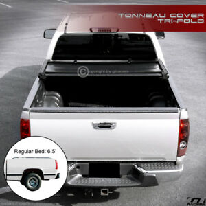 Tri fold Soft Tonneau Cover For 1988 2000 Chevy C10 C k Silverado 6 5 Short Bed