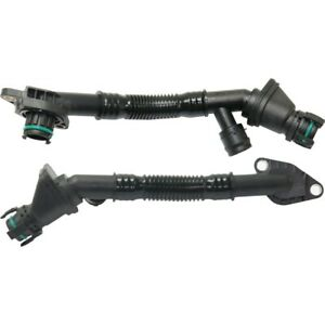 Breather Hose For 2008 2014 Bmw X6 Set Of 2 Driver And Passenger Side