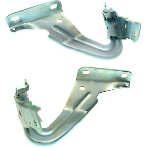 New Set Of 2 Hood Hinges Driver Passenger Side Lh Rh Fo1236155 Fo1236154 Pair