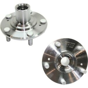 New Wheel Hubs Set Of 2 Front Driver Passenger Side Lh Rh 44600snaa00 Pair