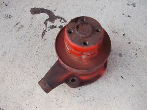 Allis Chalmers B Tractor Original Ac Engine Motor Water Pump Assembly W Pulley