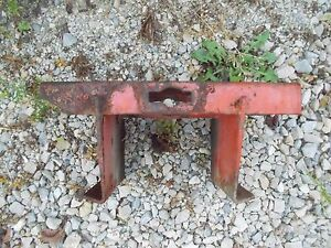 Allis Chalmers B Tractor Ac Main Radiator Support Bracket To Tractor