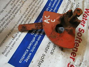 Allis Chalmers C Tractor Throttle Control Assembly