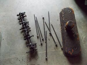 Allis Chalmers Wc Tractor Ac Engine Rocker Arm Assembly Push Rods Cover