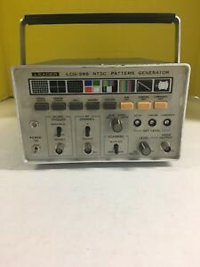 Leader Lcg 396 Ntsc Pattern Generator Test Equipment