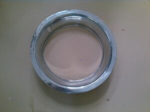 Vintage Chevy Stainless Trim Ring 15 Inch For 8 Rally Wheel