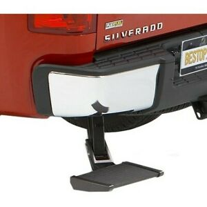 Bestop New Bumper Face Bar Step Rear Driver Or Passenger Side For Ram Truck